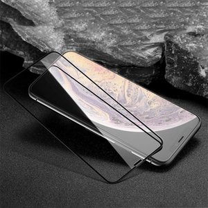 Protetor de tela para 9D vidro temperado 9h iphone 6s 7 8 mais protetor de filme protetor transparente para Apple iPhone 12 11 Pro X XR XS MAX