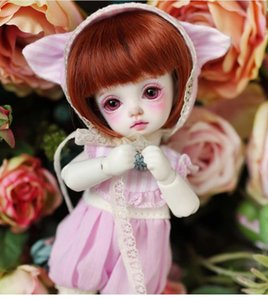 Basic Miu 1 8 BJD Doll BJD Fashionable LINDA Resin Model Joint Doll For Baby Girl's Birthday Gift Random Eyes