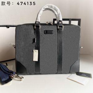 Luxurys Designers Bags 2021G Men's briefcase Fashion trend hand shoulder bag size 36*28*7cm