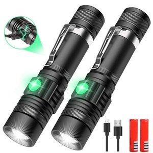 Super Bright LED фонарик T6 мощный USB аккумуляторный горел Масштабируемая Linterna велосипедного света алюминиевый сплав 18650 батарея 518