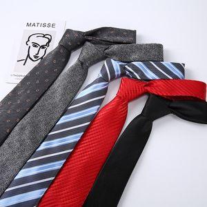 Neck Ties Sitonjwly 7cm For Men's Wedding Striped Plaid Neckies Male Formal Dress Gravatas Slim Cravat Accesssories
