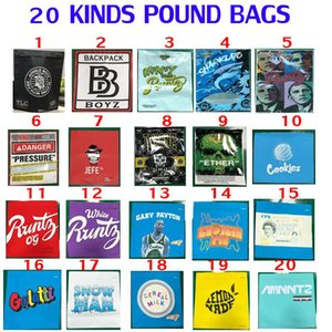 1 lb libra bolsa 16oz cookies backpackboyz presión sharklato dinero bagg olfl a prueba de envases Obama RUNTZ Paquete Bolsas Fácil Relleno