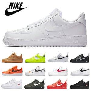 حذاء رياضي من air  force one forces 1 AF1 Shadow One Dunk Low 1 للرجال والنساء ، حذاء جري غير رسمي ، لوح تزلج كلاسيكي ثلاثي أسود أبيض ، أحذية رياضية للرجال ، أحذية رياضية مصممة