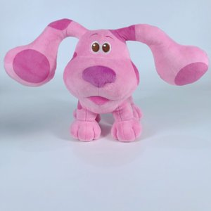 Toy Comes to Blue's Clues You doll USA Blue Spotted Pink Dog Plush Toys Wholesale good gift