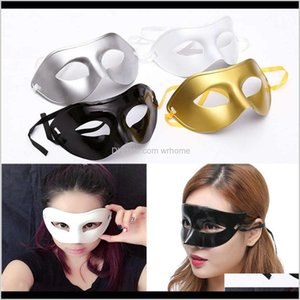 Festive Supplies Home & Gardenmens Masquerade Fancy Dress Venetian Masks Plastic Half Face Mask Halloween Party Christmas Gift 4 Color Wx9-73
