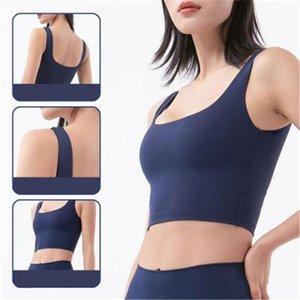 T Topsfemale 피트니스 스키니 스포츠웨어 속옷 Tshirt 여성 원활한 요가 티셔츠 패션 트렌드 딥 u 섹시한 뒤 조끼 브래지어 샤르