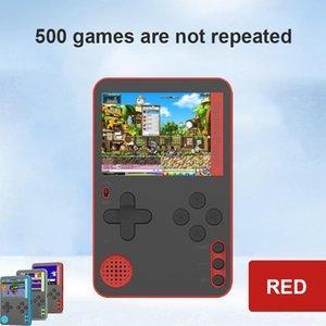 Est tragbare Handheld-Spielkonsole eingebaute 500 klassische 8-Bit-Spiele Retro-Video 2.4-Zoll-Bildschirm 2021 Controller-Joysticks
