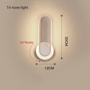 Modern Iron Wall Lamps Vintage Lead LED Lights Strips Rotatable Sconce Light Bar Stylish Indoor Lighting Bedroom Living Room Stair Bedside Dining Decoration
