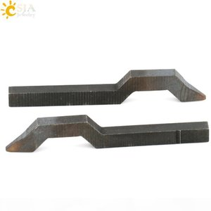 CSJA Letters A B C D E F G Silver Gold Male Female Jewelry Metal Steel Stamp Tool Mold Punch Ring E179 A