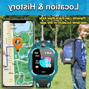 AD IP67 With Children Smart LBS Watch 2021 SIM Dual Cameras Waterproof Voice Chat Card SOS Onliving 360 Rotated Boys Girls Gifts G22 992