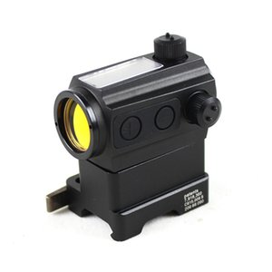 Aimpoint ST1 Solar Powered scope Tactical Red Dot Sight with Riser QD Mount