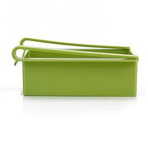 플라스틱 주방 저장 상자 가정용 냉장고 저장 홀더 서랍 스토리지 랙 공간 절약 배수구 주방 선반 4 색 CCF5318