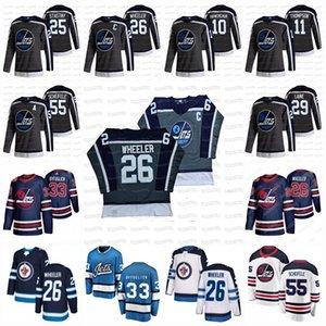 Winnipeg Jets 2021 Reverse Retro Jersey Kyle Connor Mark Scheifele Blake Wheeler Josh Morrissey Nikolaj Ehlers Andrew Copp Paul Stastny Nate Schmidt