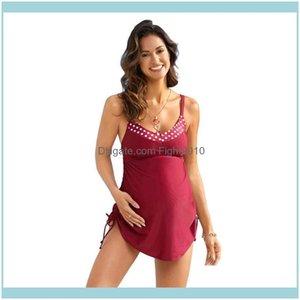 Two-Piece Suits Swimming Equipment Sports & Outdoorsfashion Polka-Dot Suspenders Pregnant Women Bikinis And Split Ladies Swimwear, Bikini To