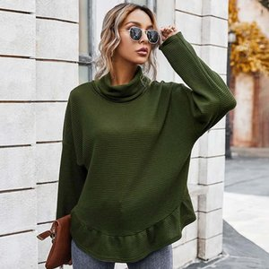 Women Designers Sweaters Women Long Sleeve Knitted Turtleneck Sweater Autumn Winter Fashion Pullover Knitwear Clothes WX155