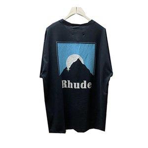 Camisetas para hombres tshirt retro sol gráficos impresión hombres mujeres de gran tamaño de alta calidad de moda moda casual manga corta