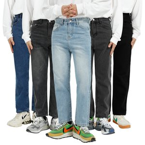 MTL Menswear | 2020 autumn and winter new product basic classic Korean fashion casual 9-point jeans men