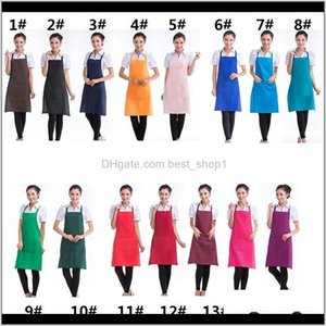 Customized Personalized Unisex Cooking Kitchen Restaurant Bib Dress With Pocket Gift Sasjs Aprons 3Zy4I