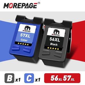 Ink Cartridges MorePage Remanufactured Cartridge For 56 C6656a 57 Deskjet F4180 5150 450CI 5550 5650 9650 PSC 1315 2110 Printer