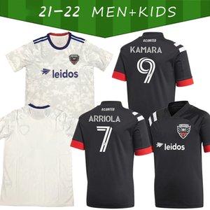 2021/2022 Customized Fussball Jersey 31 Gressel Fans Version 9 Kamara Home Away 10 Flores Man + Kids Kit 17 Santos Football Shirt