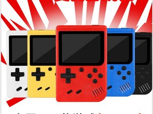 Portable Handheld video Game Console Retro 8 bit Mini Players 400 Games 3 In 1 AV Pocket Gameboy Color LCD DHL