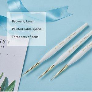 Wholesale Durable Head Poly Gel Nail Brush Acrylic Gel Polish Drawing Pen