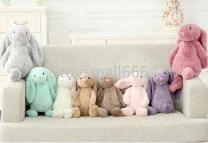 الأطفال الطويل الأذن الأرنب الأرنب نائم لطيف الكرتون أفخم لعبة kawaii محشوة الدمى دمى عيد الفصح هدية A5875S