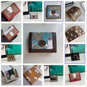 Moda luxurys diseñadores carteras, bolsa de tarjetas, bolsas clave, la cartera de mujeres de hombre de estilo más europeo y americano, de primera calidad, cuero real