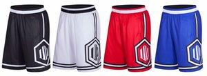 8818 hombres activos atléticos al aire libre pantalones cortos con bolsillos para el entrenamiento de fitness de ocio baloncesto corriendo 4 colores