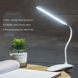 LEDs Table Lamp Creative Children's Learning Book Clip Desk Lights Morden Office LED Lamps