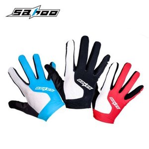 gloves Sahoo shark tiger summer long touch screen bicycle finger cycling sports gloves