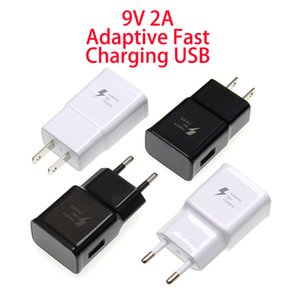 Fast Adaptive Wall Charger 9V 2A USB Power Adapter for iPhone samsung xiaomi lg smart mobile phone