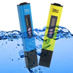 Meters Water Quality Purity Tester TDS LCD Temperature Meter PPM Filter Hydroponic Pool 4 Colors