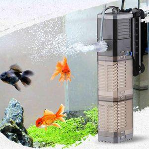 Fish Tank Filter Pump, Submersible Sponge Air Compressor, Water Flow, Oxygenation, Sunsun