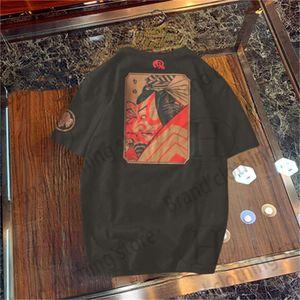 Men's and women's fashion trendy brand clothing polo T shirt printing short sleeves