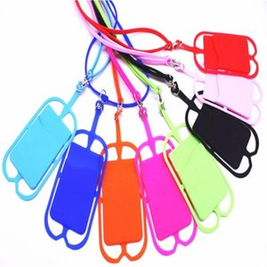 Cell Phone lanyard Straps Charms Cartoon silican Accessories for apple iphone 8 x China wholesale