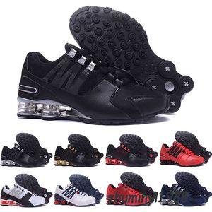 Nike Shox 2018 جديد رخيصة الرجال الكلاسيكية شارع 803 تسليم أوقية chaussures فام الاحذية الرياضية مدرب تنس وسادة رياضية حجم 40-46