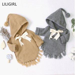 Liligirl Herbstgestrickte Pullover für Baby Jungen Mädchen Strickjacke Cartoon Quaste Neugeborenes Baby Nette Winter Oberbekleidung Infant Strickwaren