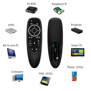 G10S Pro Voice Control Mouse with Gyro Sensing Mini Wireless Smart Remote Backlit For Android tv box PC H96 max HK1 max S905X3