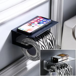 Toilet Paper Holders Holder Mobile Phone Sanitary Roll Tissue Bathroom Multi-function Shelves