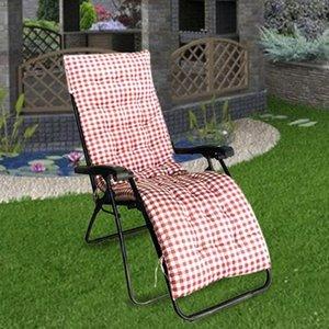 Cojín / almohada decorativa Cojín reclinable Soft Cómodo Pad Reemplazo con cubierta antideslizante Silla mecedora Silla de asiento para jardín Patio