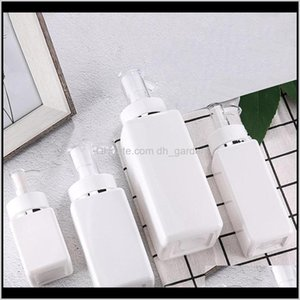 100Ml-500Ml Pet Square Lotion Pump Bottles Alcohol Gel Disinfectant Shampoo Hand Sanitizer Cosmetic Sub-Packing Plastic Bottle Owf2422 Yndec