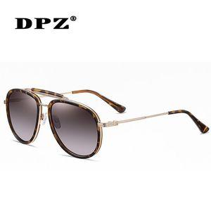 Classic Vintage TRIPP Style TR90 Polarized Aviation Sunglasses With Hood Brand Design Sun Glasses