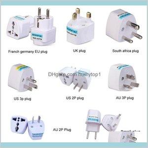 Universal Kr American European Au Eu To Us Uk Power Plug Adapter Usa Israel Brazil Travel Adapter Plug Converter Japan Korea Sedlx Rpp3S