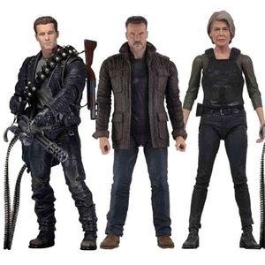 NECA Terminator Рисунок 2 Судный день T-800 Sarah Connor Arnold Schwarzeer Действия Диаграммы Коллекционная модель игрушки