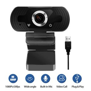 Rotatable HD Webcam PC Mini USB 2.0 Web Camera Video Recording High Definition With 1080P@30fps True Color Images