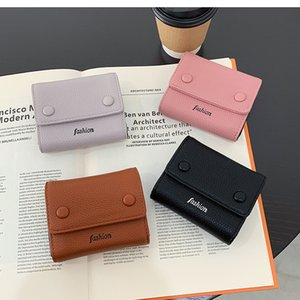 Versatile Foldable Short Wallet 2020 New Women's Small and Delicate Card Bag Student Walletqvxs