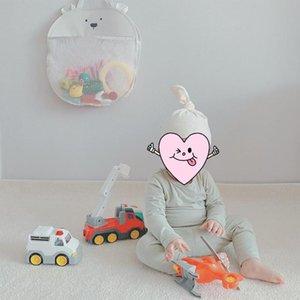 Stroller Parts & Accessories 72XC Cartoon Cute Animal Children Bath Toy Storage Bag Hanging Net Pouch Organizer
