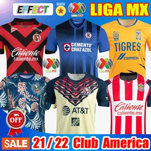 21 22 Club America Home Away Soccer Jerseys 2021 2122 Unam Unam There Leon Naul Tigres Chivas Guadalajara Xolos Tijuana Cruz Azul Kit Camisas de Futbol Shirts