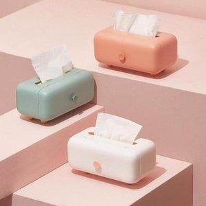 Tissue Boxes & Napkins Anti-dust Modern Tissues Dispenser Box Paper Holder Container Desktop Home Decor For Office